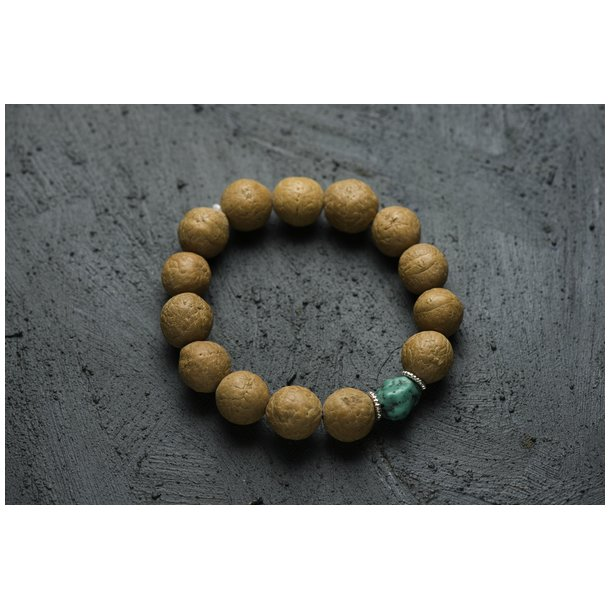 Håndleds meditationskæde:  Bodhi Light mala