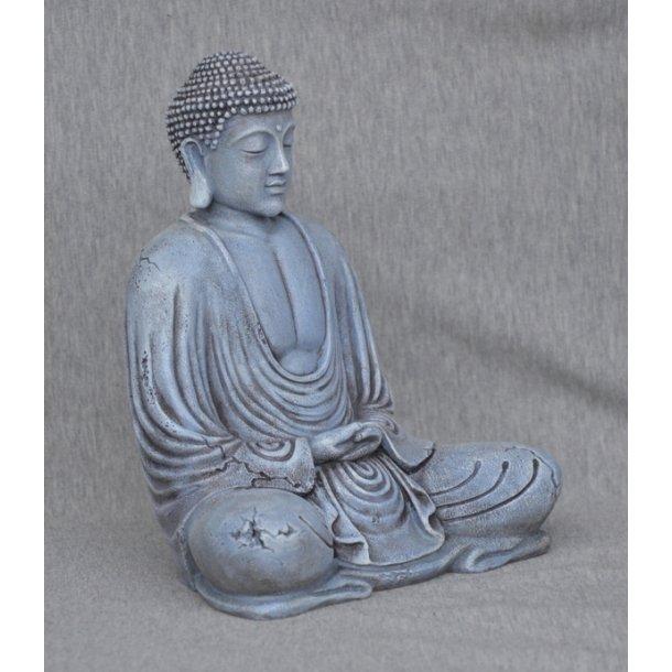 Buddha Grey Stone finish 29 cm.