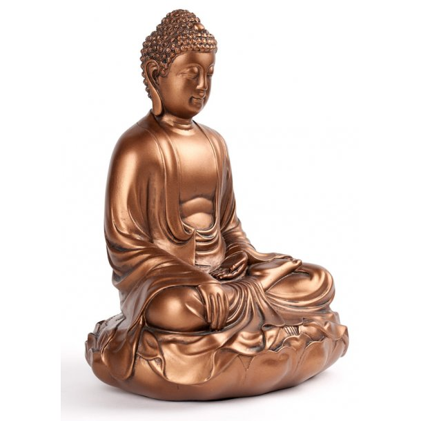 Buddha figur Earth Touching pose: 29 cm.