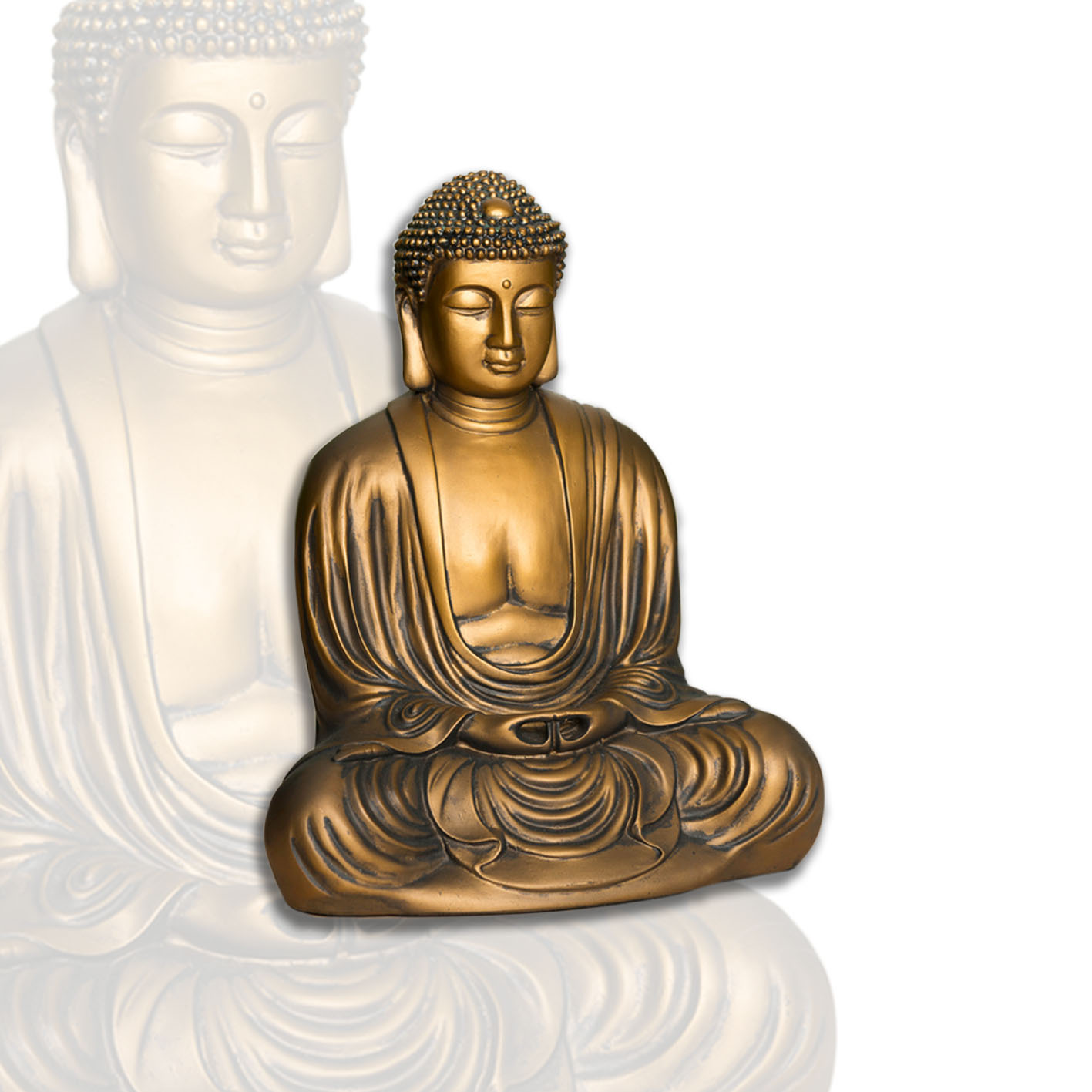 buddha figur japansk 22 cm mrk living velv re livsstil mrk sport. Black Bedroom Furniture Sets. Home Design Ideas